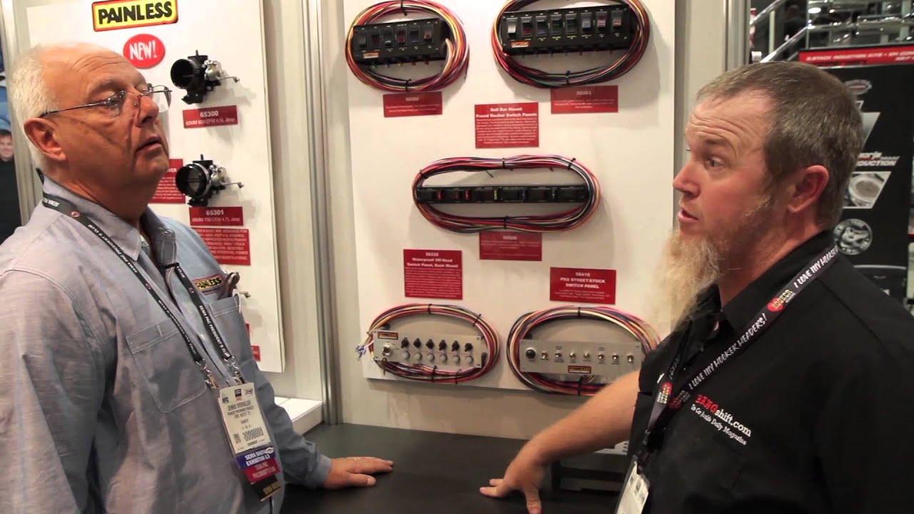 Sema2013 Painless Switch Panels Youtube 8 Panel Wiring