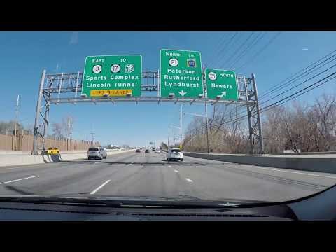 Driving from Clifton, New Jersey to Astoria, Queens, NYC via George Washington and RFK Bridges