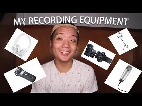 My Recording Set Up: Equipment | VLOG #1 (Filipino)