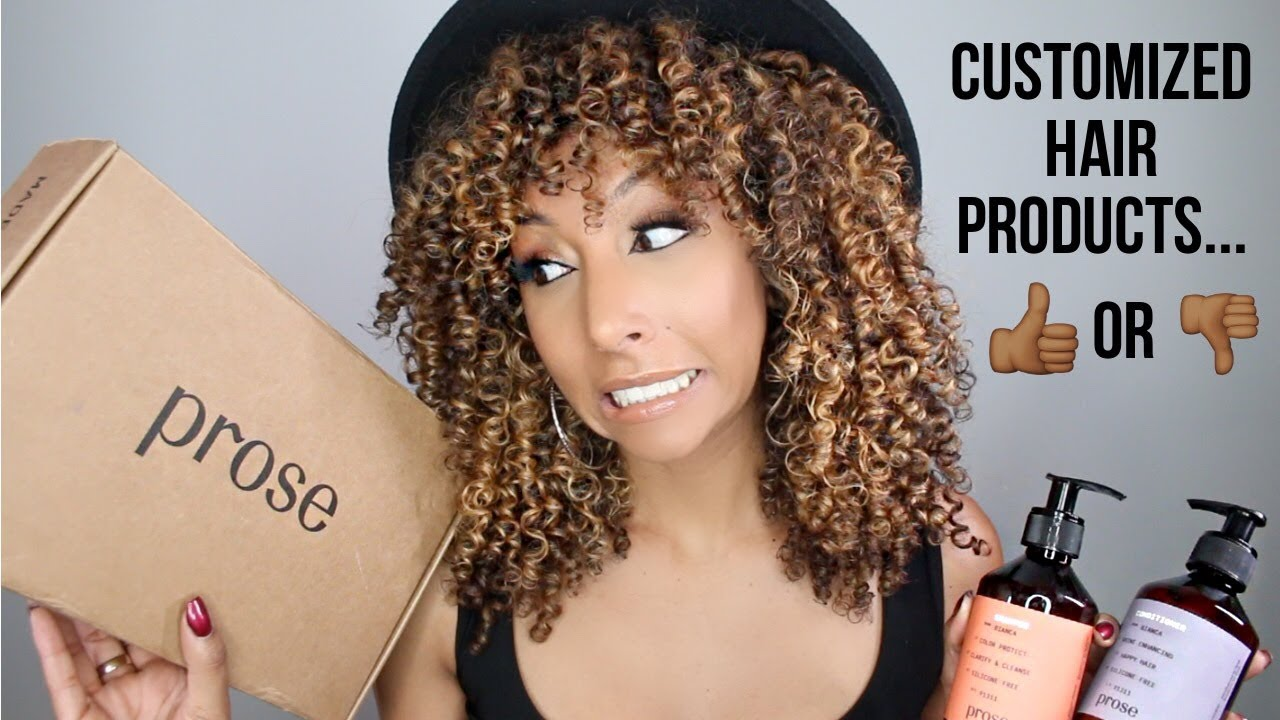 Prose Customized Hair Products Worth It Or Nah Biancareneetoday Youtube