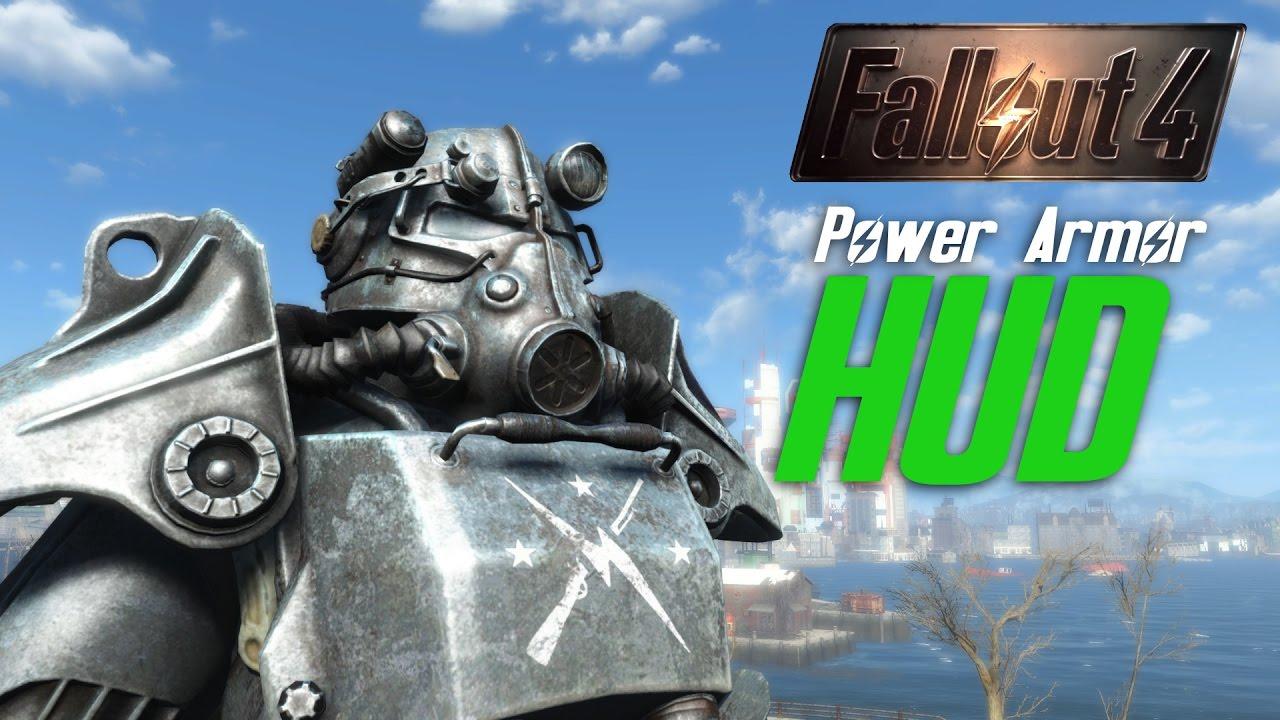 FALLOUT 4 MOD : Power Armor HUD - DEV BLOG #1