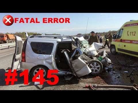 🚘🇷🇺[ONLY NEW] Russian Car Crash Compilation (17 August 2018) #145