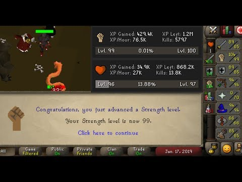 OSRS | I got 99 strength in a week by afking for hours | Busy-scaper's Guide to AFKing