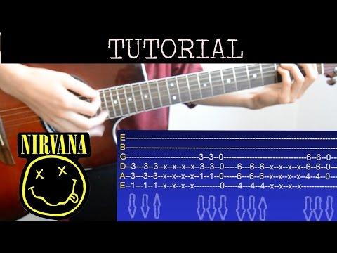 Cómo Tocar Smells Like Teen Spirit De Nirvana Tutorial De Guitarra How To Play Youtube