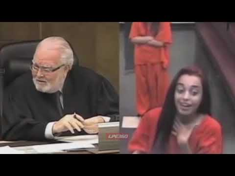 Judge Asks Young Woman If She's On Drugs