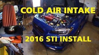 AEM INTAKE INSTALL -- 2016 STI -- Step By Step