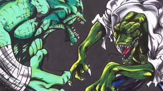Who Would Win? Killer Croc vs Lizard