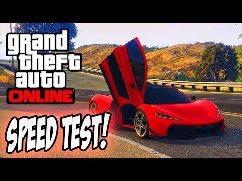 GTA 5 - PROGEN T20 vs OSIRIS vs ZENTORNO! [Super Car SPEED TEST]