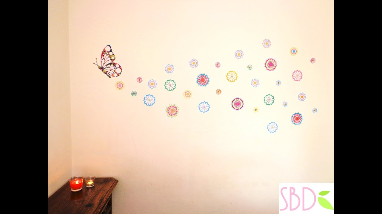 What Is Washi Tape Come Decorare Una Parete Diy Wall Decoration Youtube