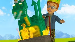 Fireman Sam US New Episodes | Castles and Kings - Season 10 Fire Rescues  🚒 🔥 Cartoon for Children