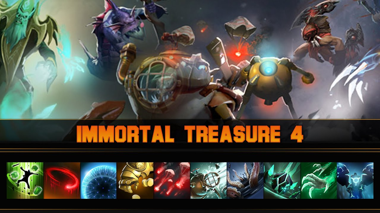 Dota 2 Immortal 14: Immortal Treasure 4 (Trove