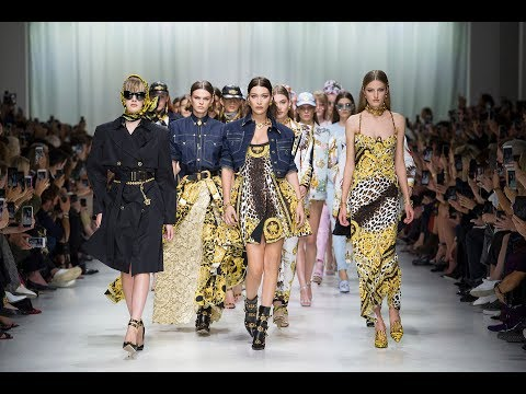 THE VERSACE TRIBUTE COLLECTION – Spring Summer 2018