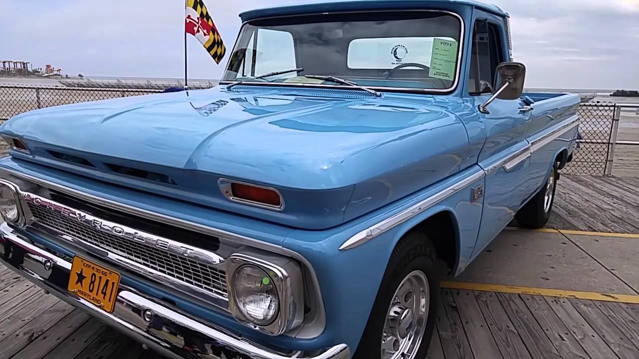 1966 Chevrolet C20 Pickup Youtube Truck