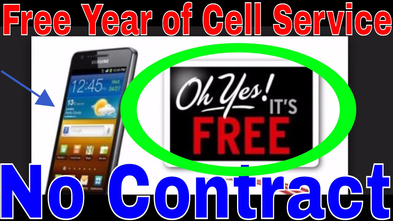 Free Cell Phones >> Free Cell Phone Service Unlimited Talk Text And Data For A Whole Year Completely Free Hot Deal
