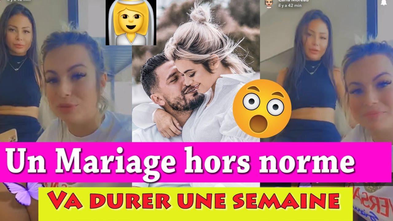 """GROSSES RÉVÉLATIONS SUR LE MARIAGE DE CARLA ET KEVIN: """"HORS NORME ET VA DURER UNE SEMAINE""""! lmvslrdm"""