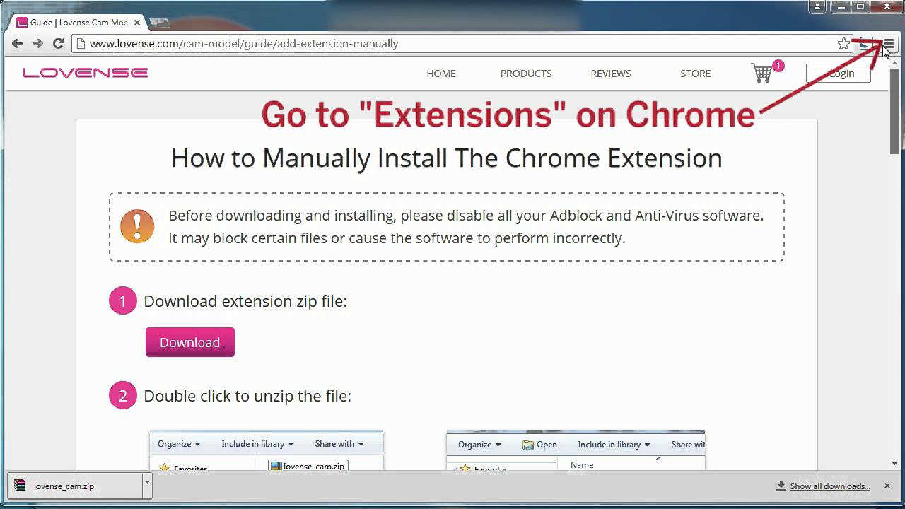 How To Download and Install the Chrome Extension