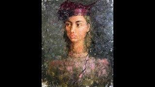 Портретная живопись с натуры - Еленой Ильичевой - Вишневый румянец