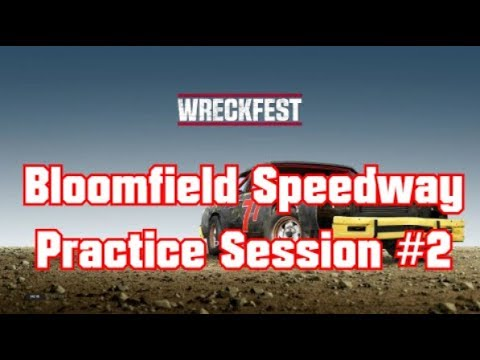 Wreckfest Bloomfield Speedway Practice Session #2