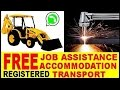 Free accommodation + Job assistance 0731582436 Bulldozer TLB grader Front End Loader