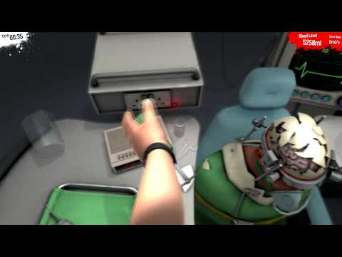 Surgeon Simulator 2013 | Brain Transplant A++