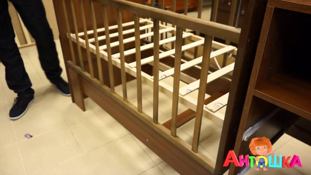 Инструкция по сборке кроватка можга