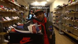 QUICK LOOK AT THE TRUE BLUE 3s AND TOP 3 JORDAN 1s!!!!!!!!!!!