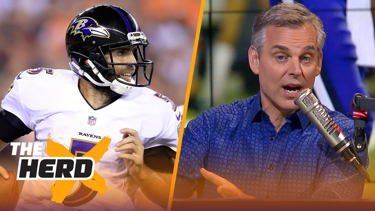 Colin Cowherd reacts to Baltimore's Week 2 loss, talks Cousins vs Packers | NFL | THE HERD