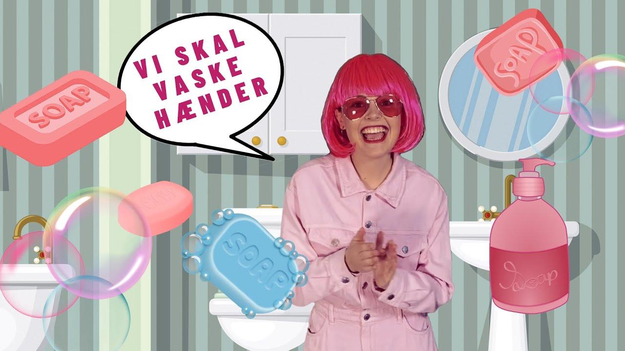 Vi Skal Vaske Hænder | Børnesange | Sange til børn | Ronja Rockstar