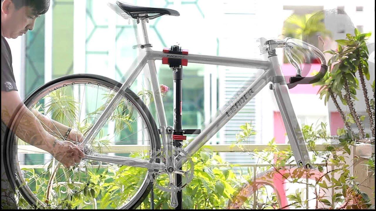 Dan Fixed Gear Kagero 2015 Leader Bikes Youtube