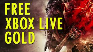 FREE XBOX LIVE GOLD: HOW TO GET UNLIMITED FREE XBOX LIVE GOLD 2017 (working august)