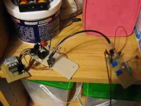 Microcontroller liest Stromzähler aus