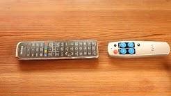 Seniorenfernbedienung Tv-Info-Quelle Maul Programmieranleitung