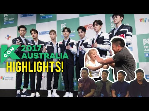 KCON Australia 2017! (HIGHLIGHTS/VLOG)
