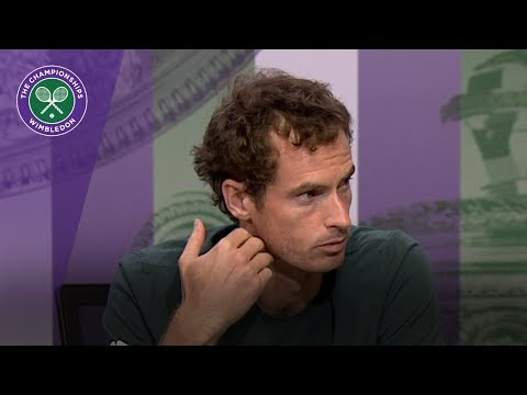 Andy Murray Wimbledon 2017 third round press conference