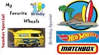 Birthday Special Hot Wheels® Matchbox®