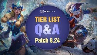 Baixar League of Legends Mobalytics Patch 8.24 Tier List Q&A