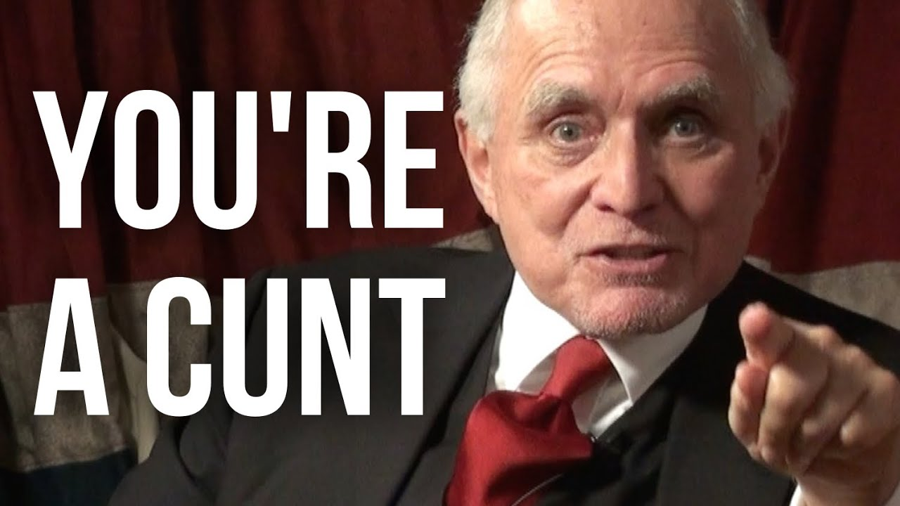 YOU'RE A CUNT - Dan Pena on London Real