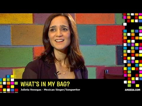 Julieta Venegas - What's In My Bag?