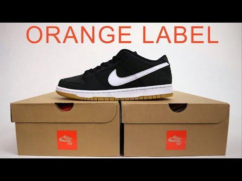 'NIKE SB ORANGE LABEL' | New Skateshop Only Line