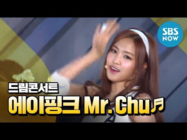 SBS 브라질 2014 특집 [드림콘서트] - 에이핑크 'Mr. Chu'