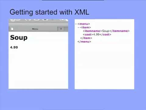 An Introduction to XML: The Basics Part 1