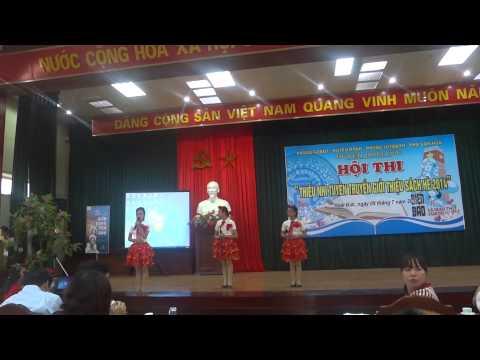 Thi giới thiệu sách hè 2014 - THCS Đông La
