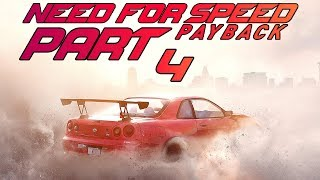 "Need For Speed Payback (FULL GAME) - Let's Play - Part 4 - ""City Lights"""