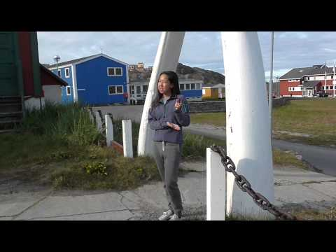 A Quick Tour of Sisimiut Above the Arctic Circle in W  Greenland