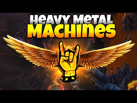 Twisted Metal Meets Rocket League! - Let's Play Heavy Metal Machines Gameplay - Sponsored