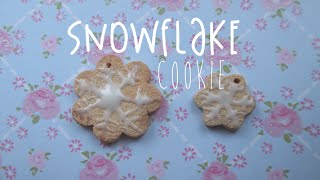Snowflake Cookie | Polymer Clay Tutorial (collab W/ Munchkincharms)