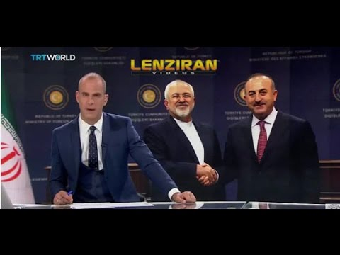 Report of Iranian and Turkish TV about Javad Zarif negotiation in Ankara