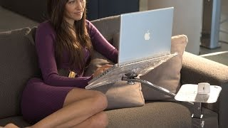 Ergonomic Support For Laptop And Tablet By Lounge-tek