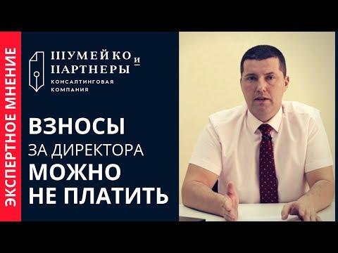 КОГДА ДИРЕКТОР-УЧРЕДИТЕЛЬ | Взносы за директора можно не платить