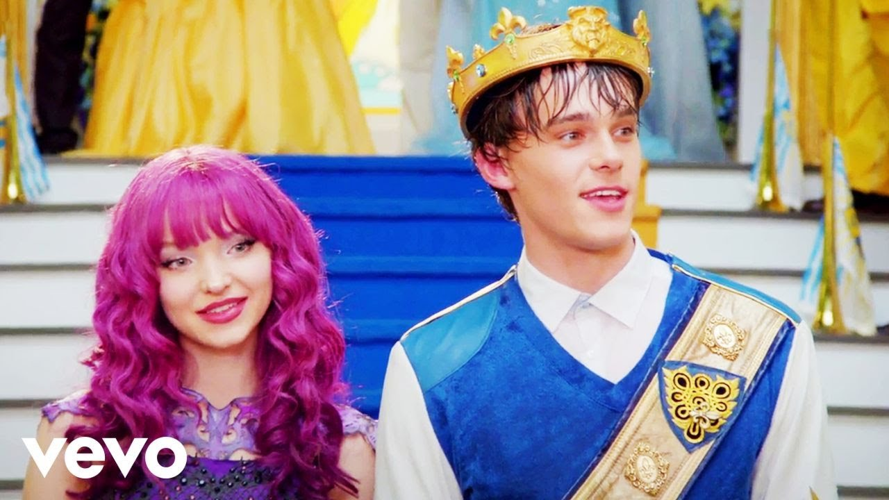 you and me from descendants 2 youtube